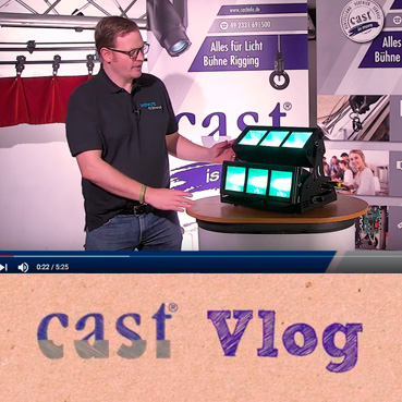 cast Vlog mit Daniel Frigger und dem Strand Coda LED Cyc