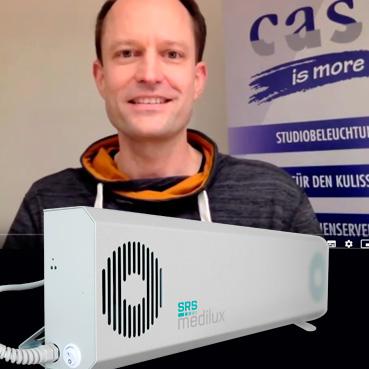 V-Strahlung gegen das Corona-Virus: Q&A mit Christian Pies von cast