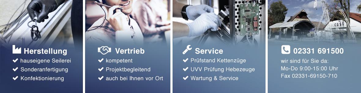 cast Herstellung Vertrieb Service
