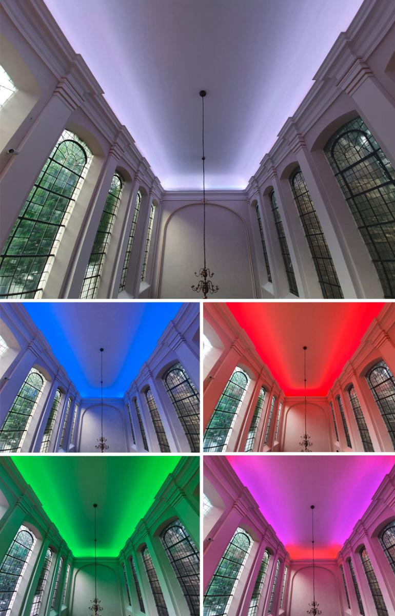 LED-Striplights | Annakirche Achen
